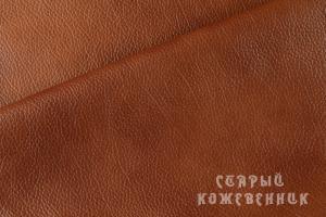 Купить кожу Мадрас Мебельная (рыжий) - цены, заказать