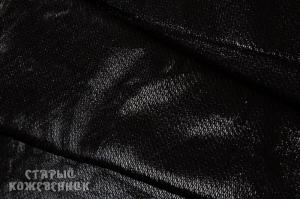 Кожа натуральная - Рыбка черная