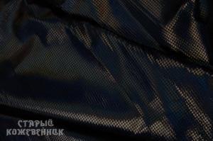 Кожа натуральная - Перламутр черный