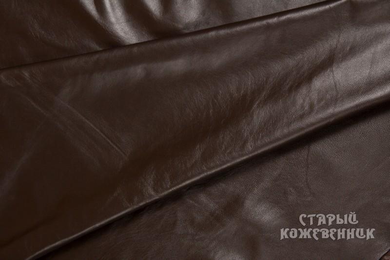 Кожа натуральная - коричневая
