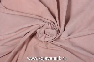 Кожа натуральная - Замш розовый