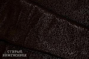 Кожа натуральная - Паутина коричневая